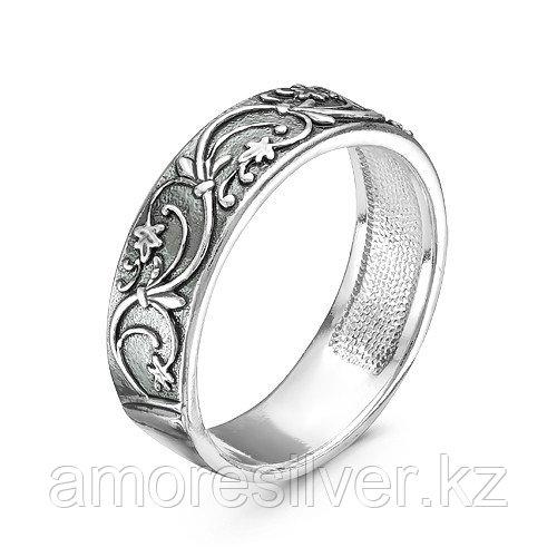Кольцо Красная Пресня из черненного серебра, флора 2309272