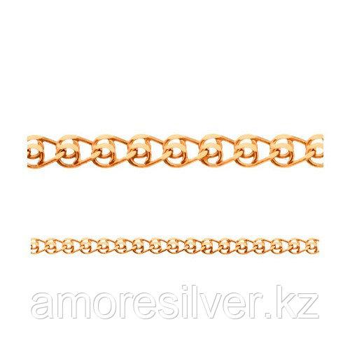 Цепь Адамант серебро с позолотой, без вставок, лав Ср925П-100305050