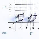 "Серьги Teosa серебро с родием, топаз фианит, ""каратник"" 0740-E-T, фото 2"