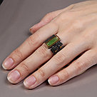 Кольцо  , нефрит, модное 71801027, фото 2