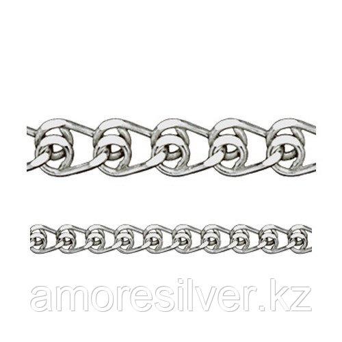 Цепь Адамант серебро с родием, без вставок Ср925Р-100304045