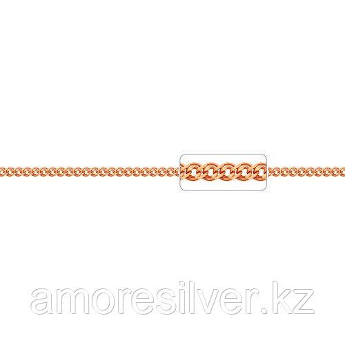 Цепь Адамант серебро с позолотой, без вставок Ср925П-103604050