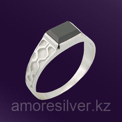 Кольцо Teosa серебро с родием, фианит, классика T-115140