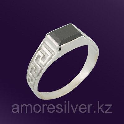 Кольцо Teosa серебро с родием, фианит, классика T-115139