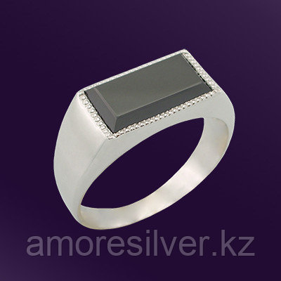 Кольцо Teosa серебро с родием, фианит, классика T-115089