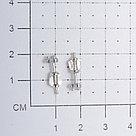 Серьги Красная Пресня серебро с родием, фианит, фантазия 3388678Д, фото 2