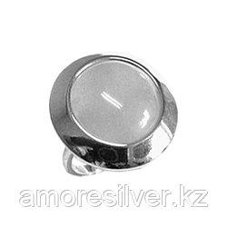 Кольцо Teosa серебро с родием, малахит, , круг 13430АР размеры - 19,5