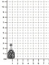 Подвеска MASKOM , фианит синт.,  51-219ч, фото 2