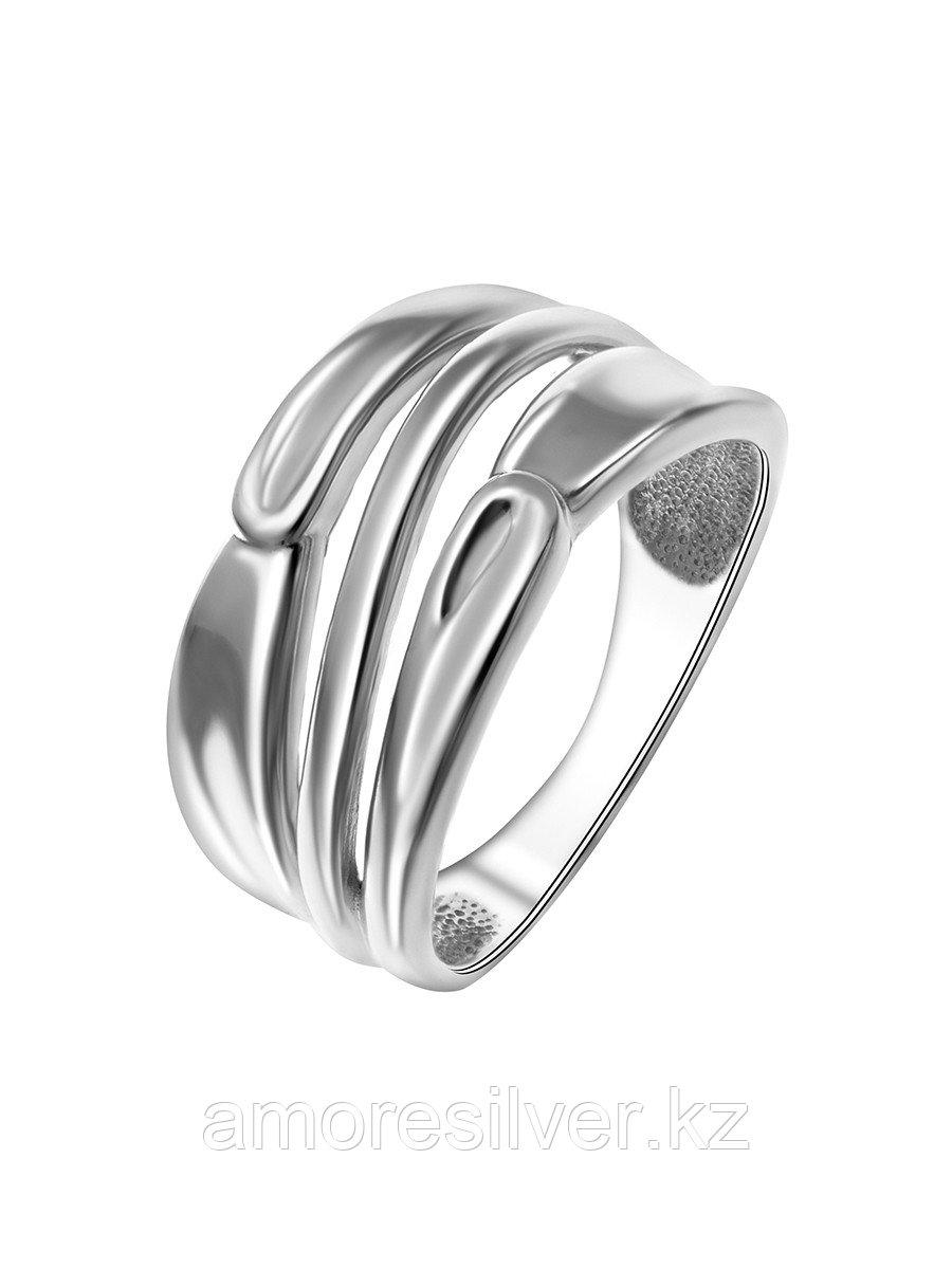 Кольцо TEOSA серебро с родием, без вставок, фантазия К600-1551 размеры - 17,5 18,5