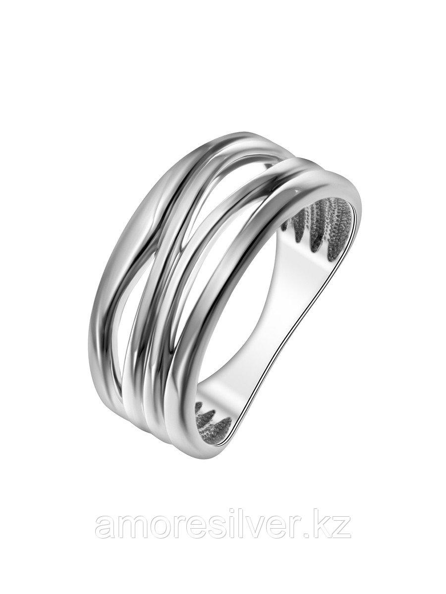 Кольцо TEOSA серебро с родием, без вставок, фантазия К600-1553 размеры - 19