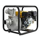"""Мотопомпа бензиновая для чистой воды PX-80, 7 л.с, 3"""", 1000 л/мин, глубина 8 м, напор 30 м Denzel, фото 2"""