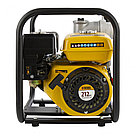 """Мотопомпа бензиновая для чистой воды PX-80, 7 л.с, 3"""", 1000 л/мин, глубина 8 м, напор 30 м Denzel, фото 3"""