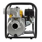 """Мотопомпа бензиновая для чистой воды PX-80, 7 л.с, 3"""", 1000 л/мин, глубина 8 м, напор 30 м Denzel, фото 4"""