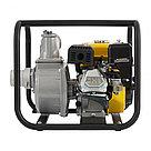 """Мотопомпа бензиновая для чистой воды PX-80, 7 л.с, 3"""", 1000 л/мин, глубина 8 м, напор 30 м Denzel, фото 5"""
