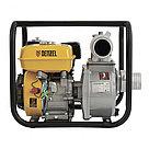 """Мотопомпа бензиновая для чистой воды PX-80, 7 л.с, 3"""", 1000 л/мин, глубина 8 м, напор 30 м Denzel, фото 6"""