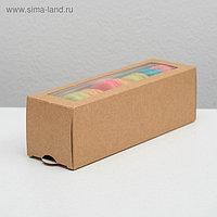 Упаковка для макарони 18 х 5,5 х 5,5 см, на 6 шт