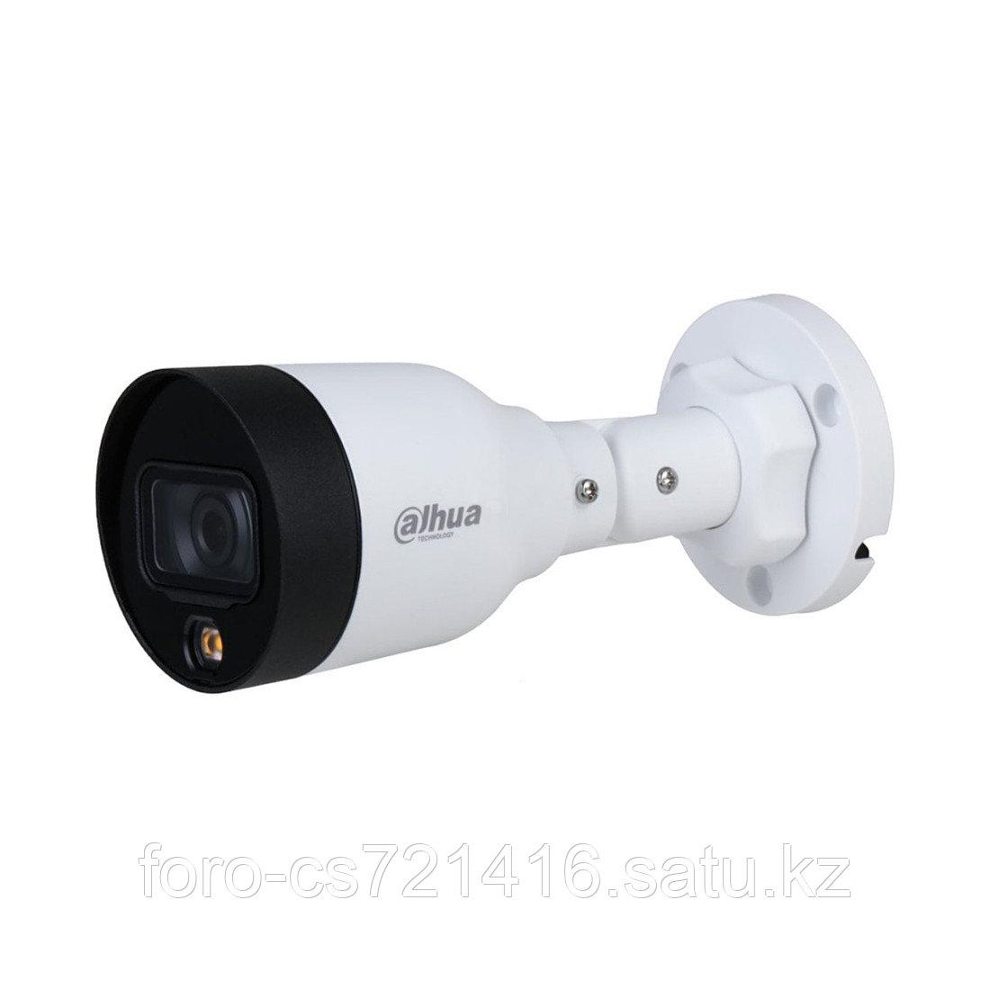 Цилиндрическая видеокамера Dahua DH-IPC-HFW1239S1P-LED-0360B
