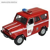 Коллекционная модель машины LADA 2108 УАЗ 31514 «Пожарная охрана», масштаб 1:34-39