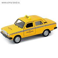 Коллекционная модель машины LADA 2107 Такси, масштаб 1:34-39