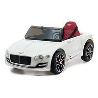 Электромобиль Bentley EXP 12 Speed 6e Concept, EVA колеса, кожаное сидение, цвет белый