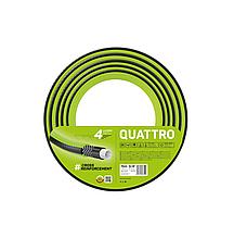 Садовый шланг четырёхслойный QUATTRO 10-074 3/4(19мм) 15м   CELLFAST(Польша)