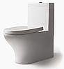 Унитаз напольный BRAVAT Rael с сиденьем белый (CX01016UW-PA-RUS)