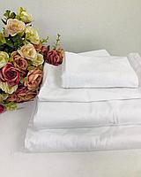 КПБ гостиничный белый 100% хлопок+полотенца