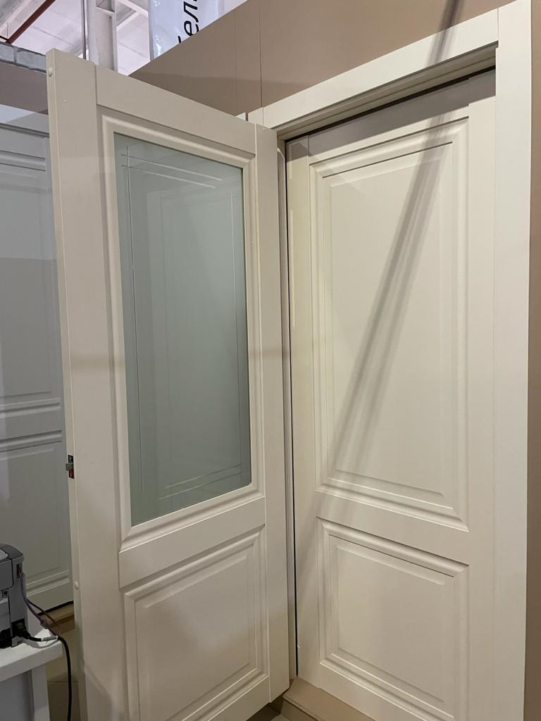 """Дверь межкомнатная остекленная """"Венеция 4"""" магнолия - фото 2"""
