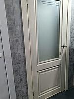 """Дверь межкомнатная остекленная """"Венеция 4"""" магнолия"""
