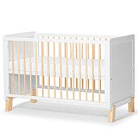 Детская кроватка с матрасом NICO White (Kinderkraft, Германия)