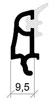 Штапик 9,5 мм (30 мм с/п) 3-1095