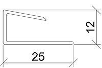 Откос Стартовый профиль 3-2203