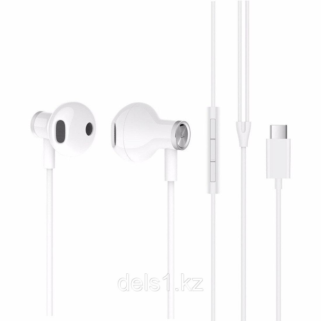 Наушники Xiaomi Mi Dual Driver Earphones (Type-C) Белый