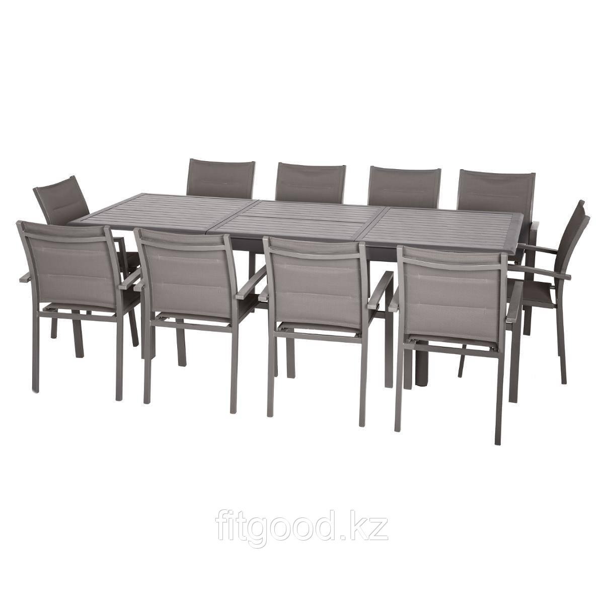 Обеденный стол для сада 3х1м Azua (раздвижной)