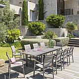 Обеденный стол для сада 3х1м Azua (раздвижной), фото 4