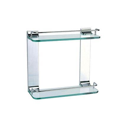 Полка стеклянная 2-ная u 40-2, фото 2