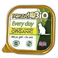 711389 Forza10 Every Bio Pollo, Форца 10 органический паштет для кошек, с птицей, ламистр 85гр.