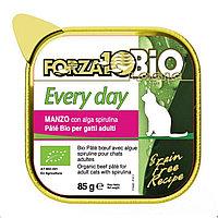711396 Forza10 Every Bio Manzo, Форца 10 органический паштет для кошек, говядина, ламистр 85гр.