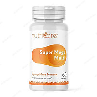 Супер Мега Мульти, комплекс витаминов для профилактики инфекционных заболеваний, таблетки, 60 шт