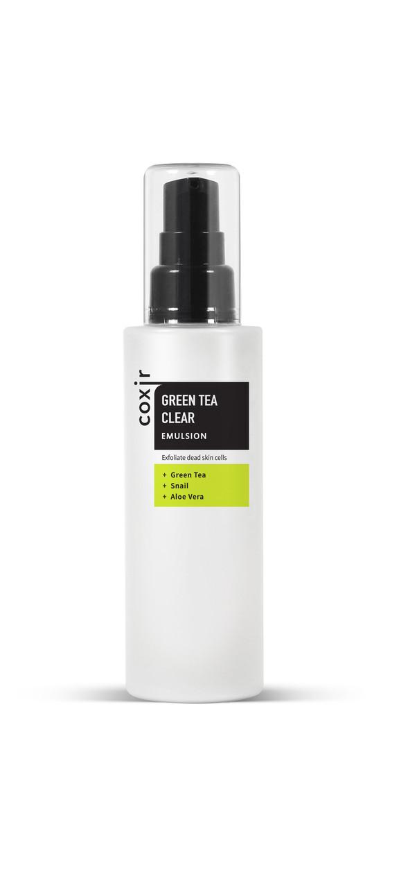 Coxir Очищающая эмульсия для лица Green Tea Clear Emulsion / 100 мл.