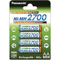 Аккумуляторы Panasonic AA 2700mAh Япония 4BP(BK-3HGAE/4BE) 4шт Перезаряжаемые