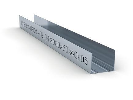 Профиль направляющий (ПН) Knauf 50x40x3000 мм