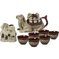 Чайный керамический сувенирный набор Степь