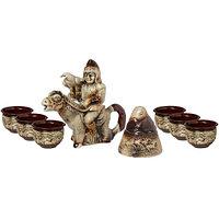 Чайный керамический сувенирный набор Всадник с беркутом