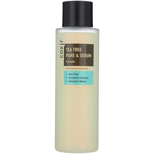 Coxir Тонер для жирной кожи лица Tea Tree Pore & Sebum Toner / 150 мл.