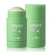 Глиняная Маска Стик для глубокого Очищения и Сужения пор с экстрактом Зеленого Чая Green Mask Stick 40 гр