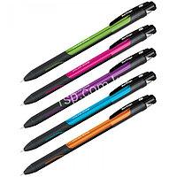 """Ручка шариковая Berlingo """"Color Zone stick"""" синяя, 0.7 мм, прорезиненный корпус ассорти"""