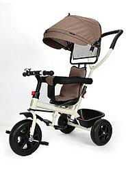 Трехколесный велосипед Tomix Baby Trike, коричневый