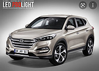 Переходные рамки Hyundai Tucson III [2015 2018] под линзы Hella 3r/5r, Би-Лед