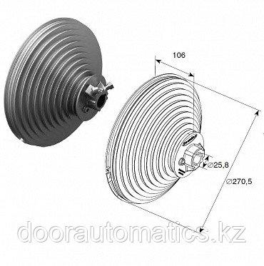 Барабан для вертикального подъема н=5512 мм